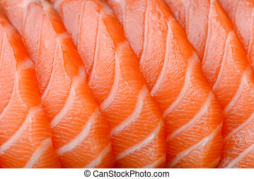 affettato, salmone