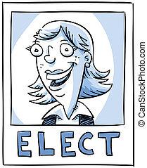 affiche, élection
