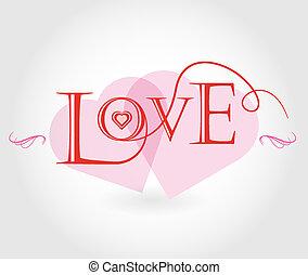 affiche, amour