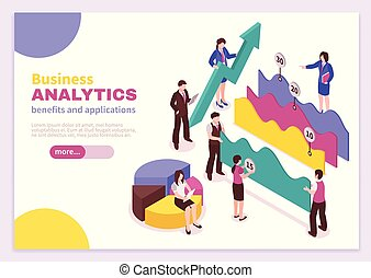affiche, analyste, business