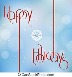 affiche, carte, conception, salutation, illustration, fetes, invitation., vecteur, fête, vacances, bannière, ou, heureux