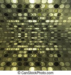 affiche, vecteur, scintillement, fond, lumières