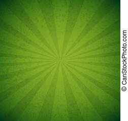 affiche, vert, éclater