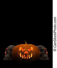 affiches, halloween
