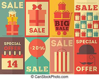 affiches, verkoop, verzameling