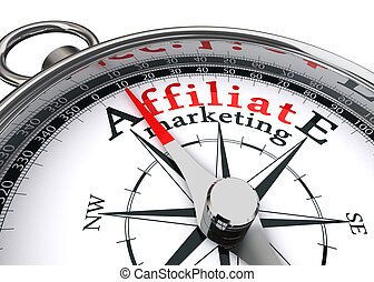 affiliate, marketing, fogalmi, iránytű