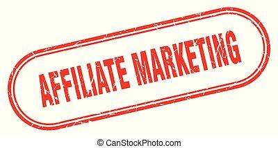 affiliate marketing stamp. affiliate marketing square grunge sign. affiliate marketing