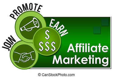Affiliate Marketing Three Green Circles - Affiliate ...
