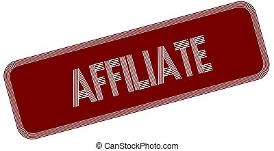 AFFILIATE on red label.