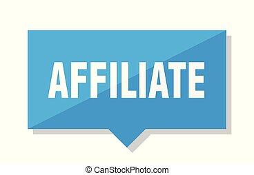 affiliate price tag - affiliate blue square price tag