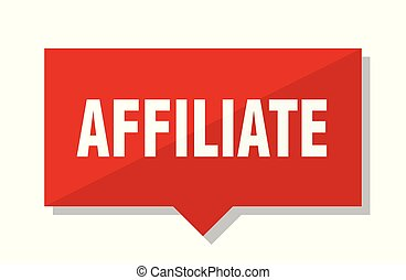 affiliate red tag - affiliate red square price tag