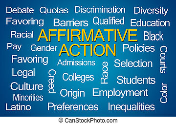 Affirmative Action Word Cloud