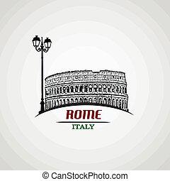 affisch, rom