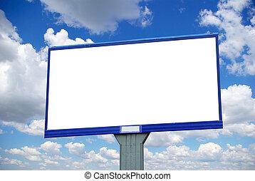 affischtavla, annonsering