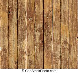 affligé, vertical, bois, planche, surface, seamlessly,...