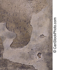 afflitto, muro pietra