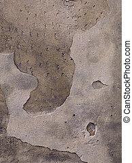 afflitto, parete, pietra