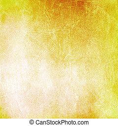 afflitto, sfondo giallo, struttura