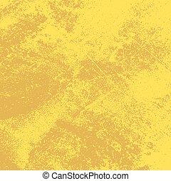 afflitto, sfondo giallo