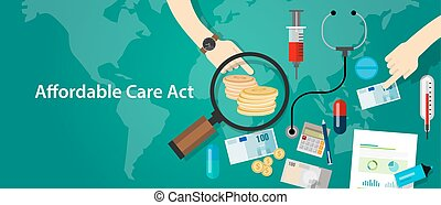 Affordable care act ACA Obama health insurance program - ...