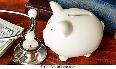 affordable, concept., cuidado saúde