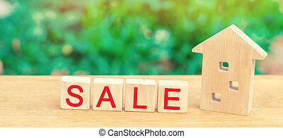 """affordable, maison, """"sale""""., maison, estate., bois, propriété, housing., vente, vrai, inscription"""