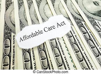 affordable, soldi, cura, atto