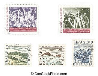 affranchissement, collectable, timbres, lenin