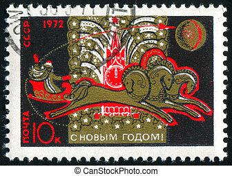 affranchissement, timbre