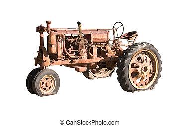 afgå, traktor farm