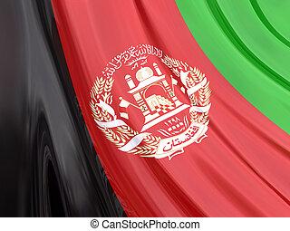 afganistan, bandera