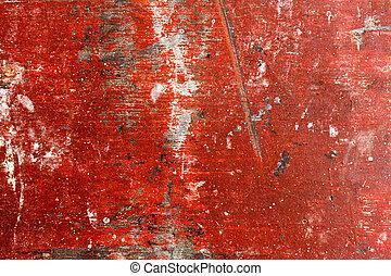 afgebroken, grunge, resolution., kwaliteit, textuur, hoog, hout, paint., uiterst, style., paneel