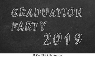 afgestudeerd, partij., 2019