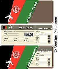 afghanistan, biglietto, aereo, classe, primo