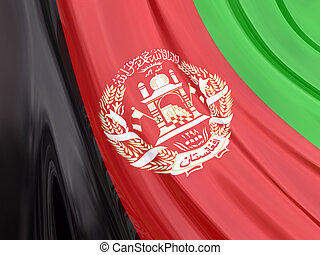 afghanistan, drapeau