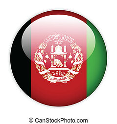 Afghanistan flag button