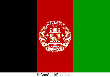 afghanistan flag - national flag of afghanistan country....