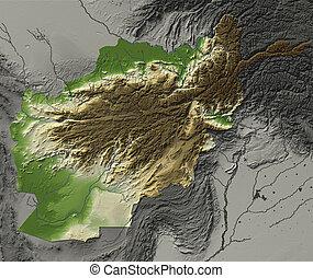 afghanistan, mappa sollievo