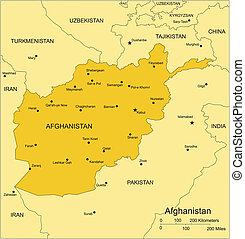 afghanistan, paesi, circondare