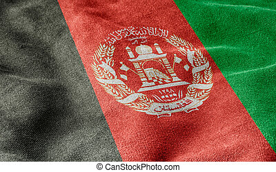 afghanistan, vlag