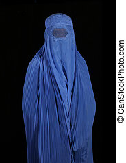 Afghanistan Woman - Woman From Afghanistan on Black...