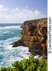 afgronden, kauai, kust