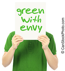 afgunst, groene