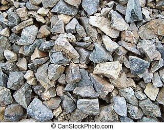 afiado, pedras