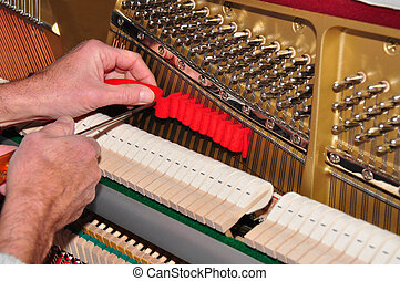 afinación, el, piano