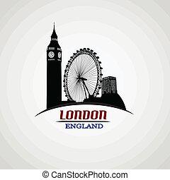 afisz, londyn