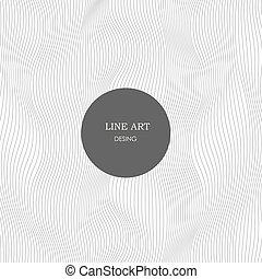 afisz, zaprojektujcie szablony, w, abstrakcyjny, style., wektor, illustration.