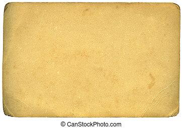 af)knippen, grunge, leeftijd, textuur, (inc, papier, oud, path)