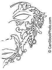 af)knippen, helft, masker, gezicht, kunstwerk, steegjes