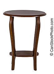af)knippen, vrijstaand, achtergrond, steegjes, witte , om de tafel